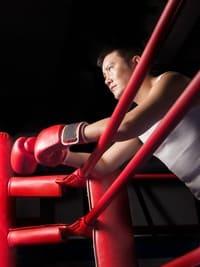 男性のボクサー